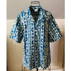 Jade Fashions Palm Tree Paradise Aloha Shirt