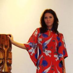 Hawaiian Togs Ladies Rayon Dress