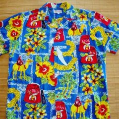 The Kahala Shriners Aloha Shirt