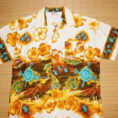 Liberty House Tropicana Hawaiian Islands Airlines Shirt