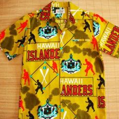 Malahini Hawaiian Islanders Baseball Team Shirt