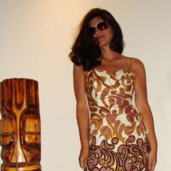Sun Fashions of Hawaii NOS Wiggle Dress