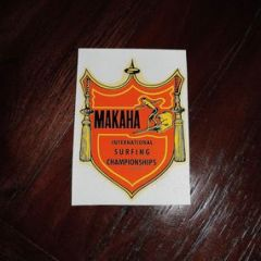 Makaha International Surf Championships Decal Sticker