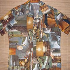 Hawaii Surf Surfing Photo Print Shirt
