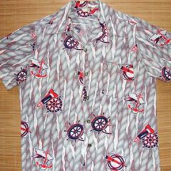 Catalina Sailor Sailing Aloha Shirt