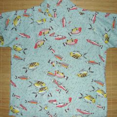 B.V.D. Atomic Fish Rayon Shirt