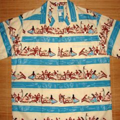 Sun Fashions Hawaiian Feast Shirt