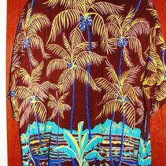 Desmond' Full Panel Palm Trees Shirt