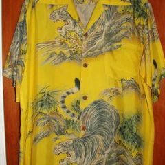 Andrade Asian Bamboo Tigers Shirt