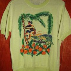 Hawaii Coconut Climber Canoe Sweater