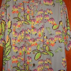 Alfred Shaheen Atomis Sea Life Conch Shirt