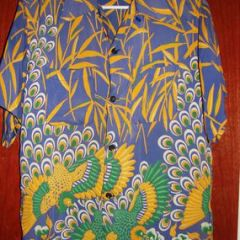 Art Vogue Atomic Peacock Shirt