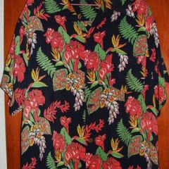 Kihi Kihi Tropical Flowers Shirt