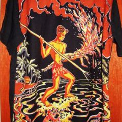 Art Vogue Spear Fisherman Shirt
