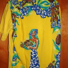 Ross Sutherland Hula Girl Dance Shirt
