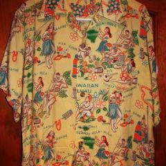 Waikiki Sports Hawaii Aloha Shirt