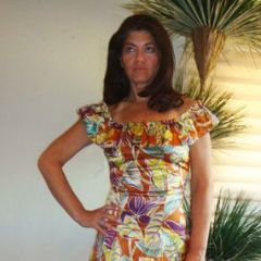 Hawaiian Wiggle Dress