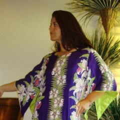 Hawaiian Pake Muu Muu Dress