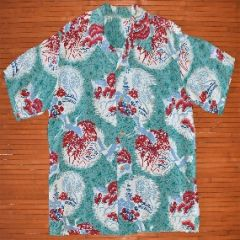 Asian Deer Rayon Hawaiian Shirt