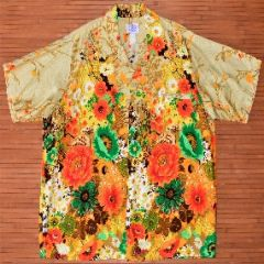 Harriet's Acid Trip Hippie Floral Shirt