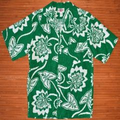 Pomare Green Monstera Leaf Shirt