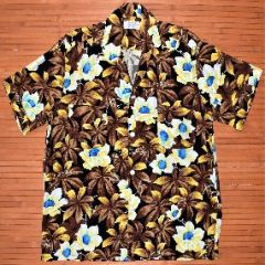 Penny's Plumeria Flower Power Hawaiian Shirt
