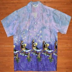 Mr. Kailua Rainbow Sunset Hula Moon Shirt
