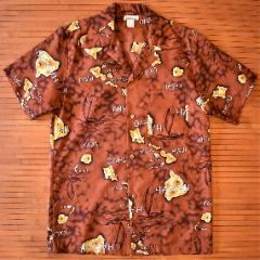 Vintage Made in Hawaii Island Hokule'a  Shirt
