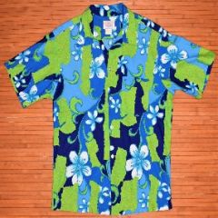 Harriet's Hippie Groovy Flower Power Aloha Shirt