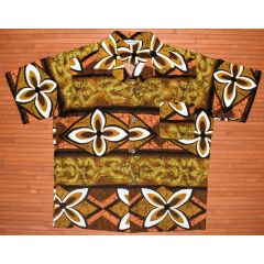 Made in Hawaii Crackle Flower Power Shirt