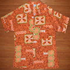 Don Loper Neon Wild Child Plumeria Shirt