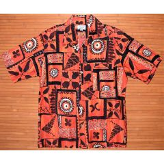 Coach 'N Four Rosenblum's Tribal Lava Redeye Shirt