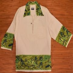 Napili Tribal Petroglyph Long Sleeve Hawaiian Shirt