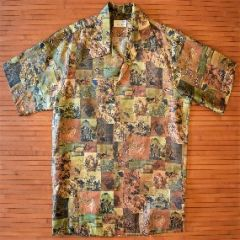 Surfline Desert Bird Photo Print Nene Hawaiian Shirt
