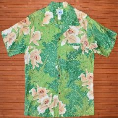 Andrade Vintage Green Machine Hawaiian Shirt