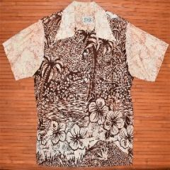 Diamond Head Sportswear Palm Tree Vintage Aloha Shirt