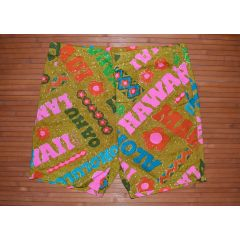 Surf Line Liberty House Vintage Hawaiian Swim Shorts