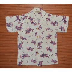 Billy The Kid 1940s Cowboy Rodeo Vintage Shirt