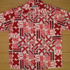 Hawaii Mc Donalds 1971 Hawaiian Aloha Shirt