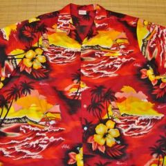 Kalena Fashions of Hawaii Gorgeous Shirt XXXXL