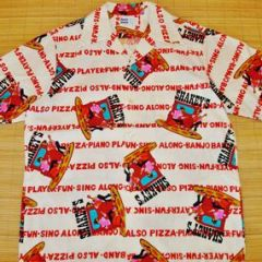 North Shore Hawaii Shakey's Pizza Employee Shirt