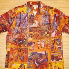 Ross Sutherland Gauguin Photo Print Art Shirt