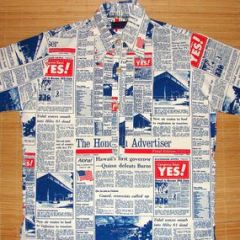 Action Sportswear Hawaii 25th Anniversary Statehood Shirt
