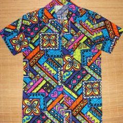 Hawaii Trippy Acid Jacket