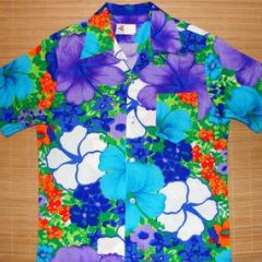 Pomare Hibiscus Floral Shirt