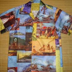 Hawaii Captain Cook Polynesian Shirt