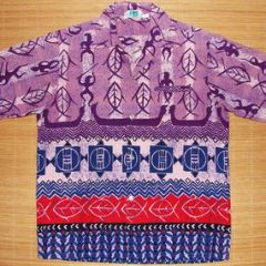 Ritz Tribal Fish Vintage Rockabilly Shirt