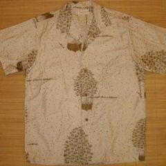 Peggy Wood IGA Hawaii Grocers Aloha Shirt