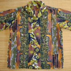 Hawaii Tribal Tiki Aloha Shirt