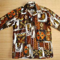 Paradise Hawaii Kahili Tiki Shirt